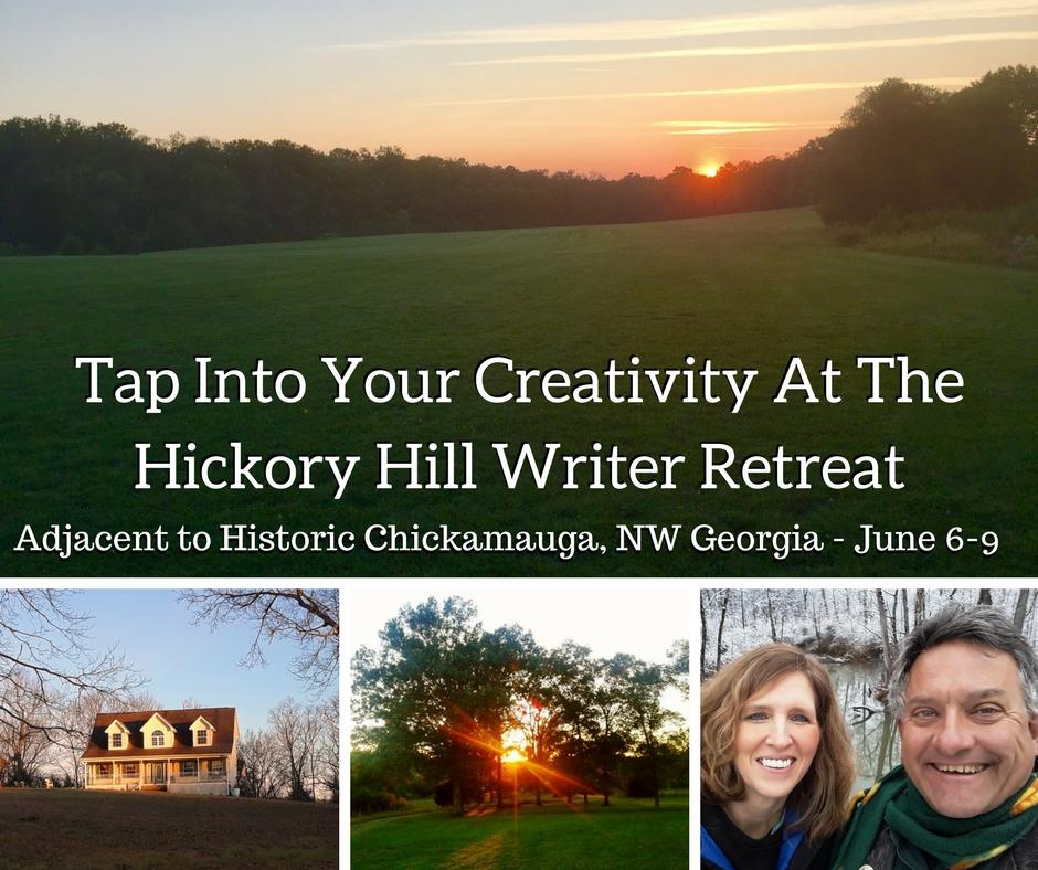 Hickory Hill Writer Retreat Chickamauga Northwest Georgia